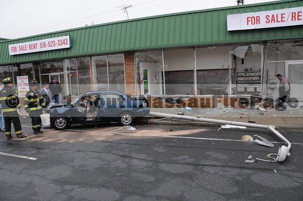 April 14th, 2011 Car vs Building 134 West Sunrise Highway