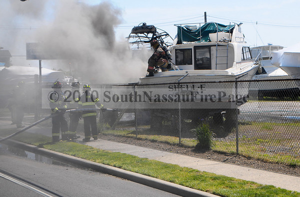 Boat Fire May 13th, 2010 @ 696 South Main Street