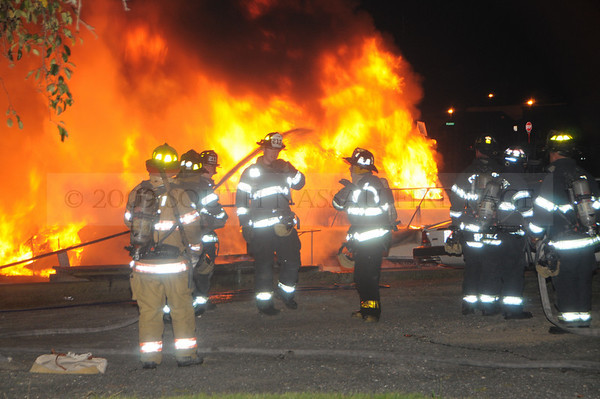 September 6th, 2009 Working Boat Fires @ 890 Guy Lombardo Avenue