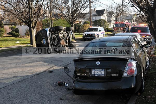 November 21st, 2010 Overturned SUV South Bayview & Archer
